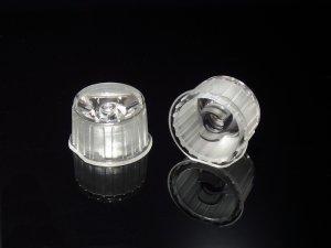 画像1: パワーLED専用 集光レンズ[20mm-透明-15度-透明ケース]