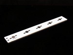 画像1: ハイパワーLED用アルミ基板(5個直列用)