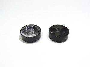画像1: パワーLED専用 集光レンズ[23mm-平行線-狭]