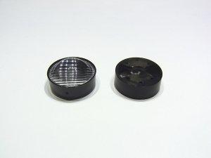 画像1: パワーLED専用 集光レンズ[23mm-平行線-広]